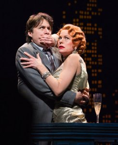 Bullets Over Broadway, Zach Braff and Marin Mazzie