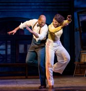 "Brandon Victor Dixon and Audra McDonald in ""Shuffle Along."" Photo Credit Sara Krulwich/The New York Times"