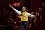 "Josh Groban as Pierre in the musical ""Natasha, Pierre & The Great Comet of 1812."" Photo by Sara Krulwich/The New York Times"