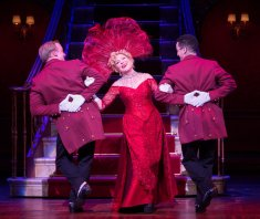 "Bette Midler as Dolly Gallagher Levi in ""Hello, Dolly!"" at the Shubert Theater. Photo by Sara Krulwich/The New York Times"